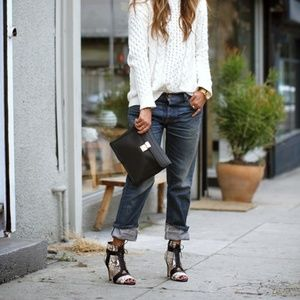 Free People We The Free Button-Fly Boyfriend Jeans